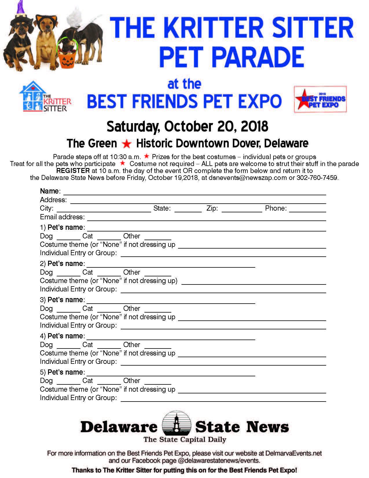 Best Friends Pet Expo | Delmarva Events